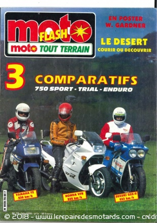Le top 14 des magazines de moto qui ont disparu, Moto Flash