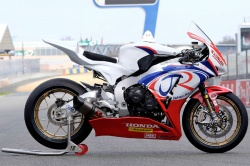 La Fireblade stock du team Honda Jackson Racing