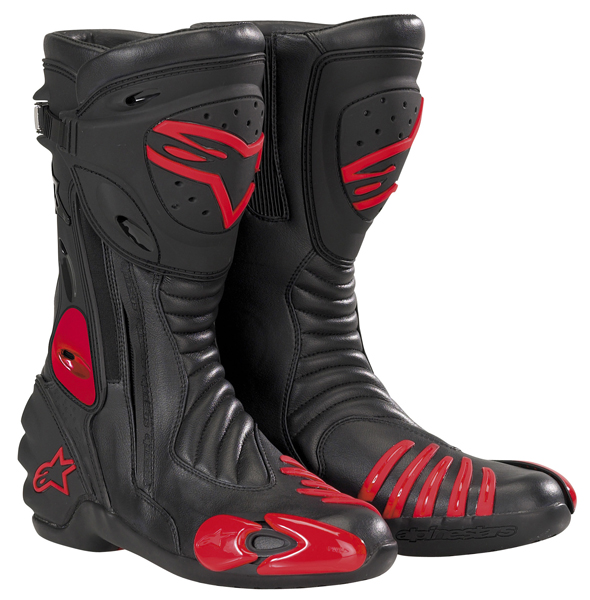 bottes smx r rouge alpinestars avis quipement moto. Black Bedroom Furniture Sets. Home Design Ideas