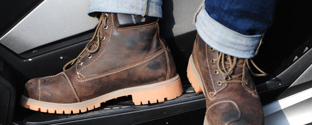 Bottines Forma Elite : la Timberland du motard