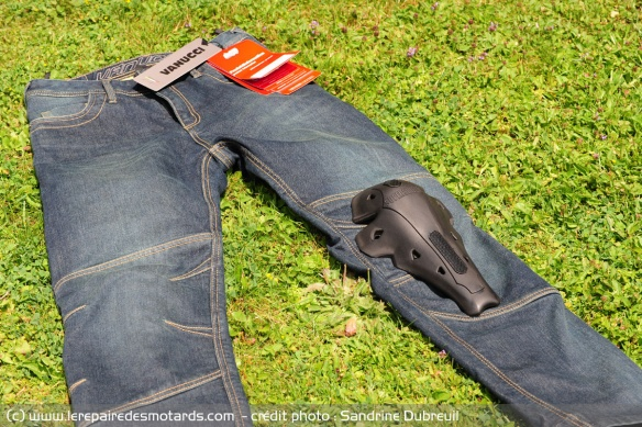 Protection genoux jean Vanucci Cordura Denim