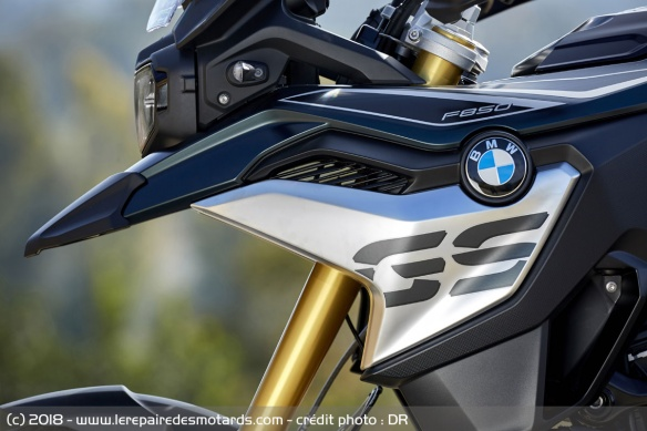 Carénage de la BMW F850GS Exclusive