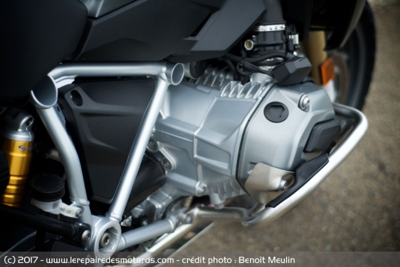 Le flat-twin de la BMW R 1200 GS