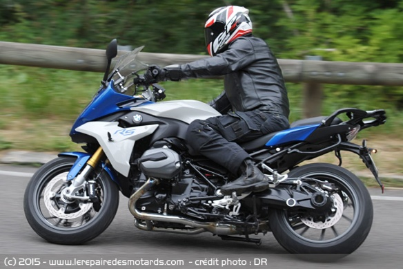 bmw r1200rs, evidente de prise en main