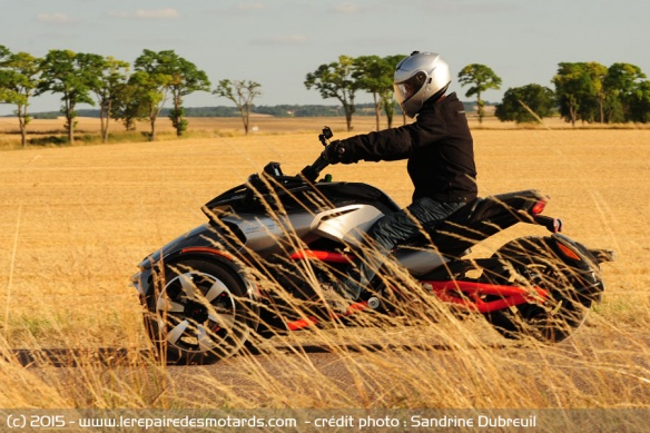 BRP Can-Am Spyder F3 S sur nationale