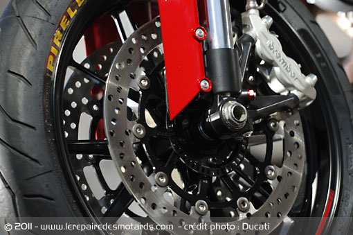 Freins Ducati Monster 1100 Evo