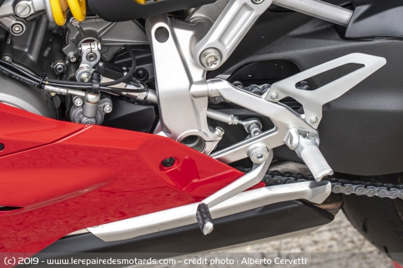 La Panigale reçoit un Shifter up/down