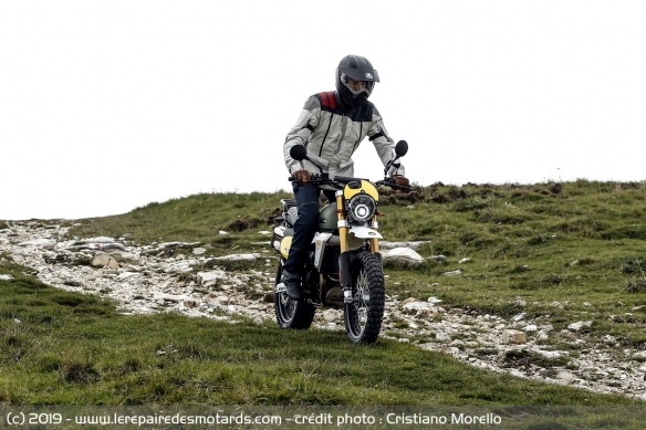 La Fantic Caballero Rally 500 en off-road