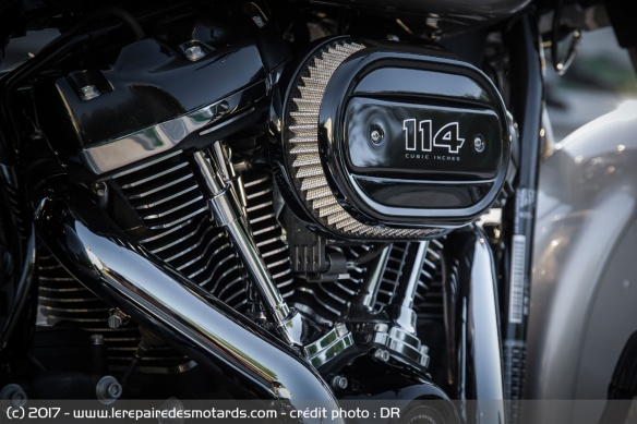 Le big twin Milwaukee Eight 114