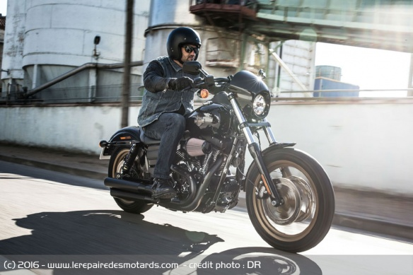 Harley-Davidson Low Rider S sur route