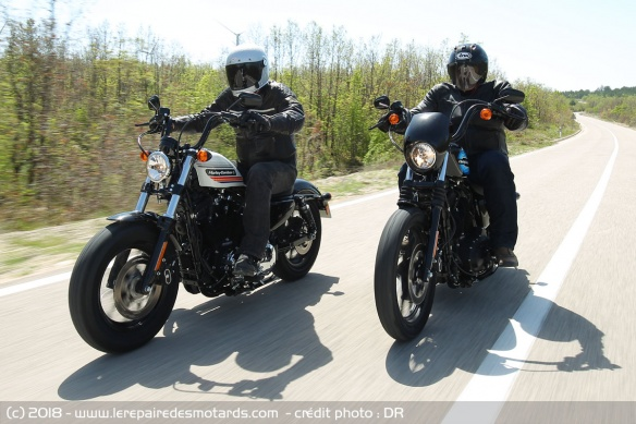 Comparo Harley-Davidson Sportster 1200 Forty-Eight Special Iron