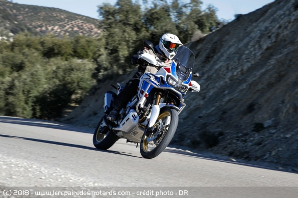 Essai de la Honda Africa Twin Adventure Sports sur route