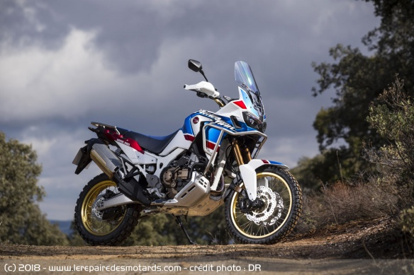 Essai de la Honda Africa Twin Adventure Sports