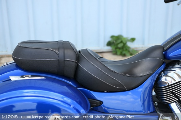 Selle de l'Indian Chieftain Limited