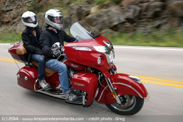 Essai Indian Roadmaster en duo
