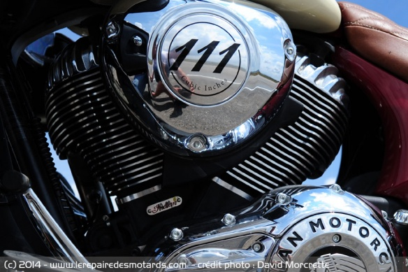 Moteur Vtwin de 111ci ou 1811 cm3 Indian Roadmaster