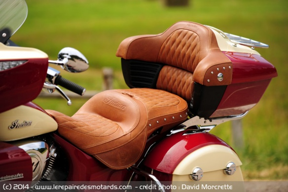 Selle pilote et passager Indian Roadmaster