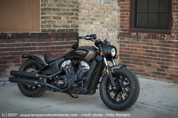 Essai de l'Indian Scout Bobber