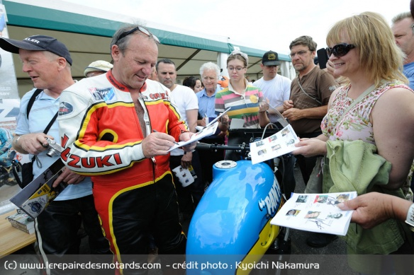 Graeme Crosby at the Festival of 1.000 Bikes in Mallory Park