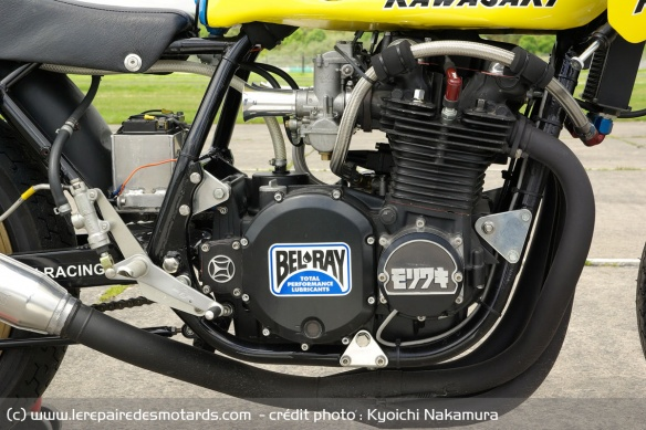 Kawasaki cube four-cylinder engine now at 1,135 cc