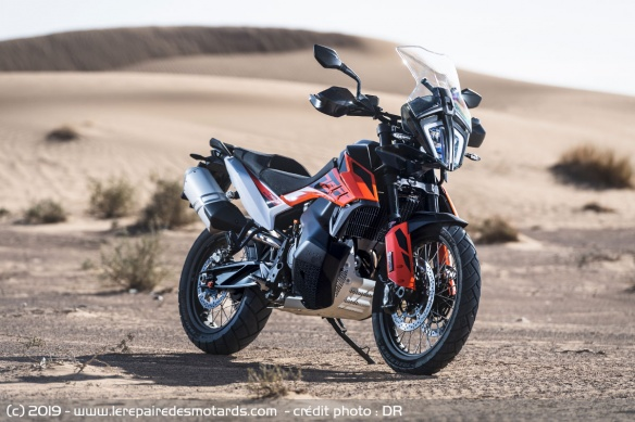 La version route de la KTM 790 Adventure