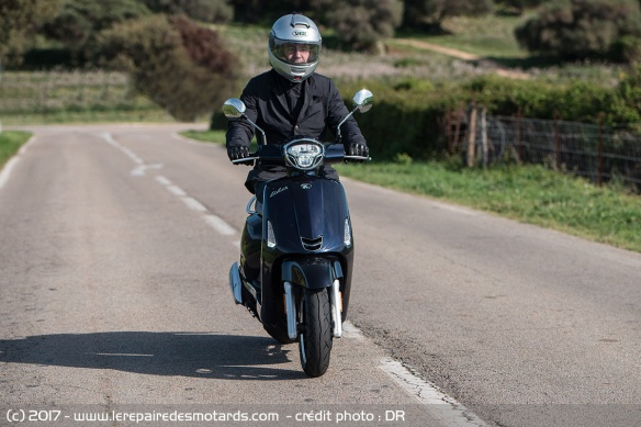 Kymco Like sur route