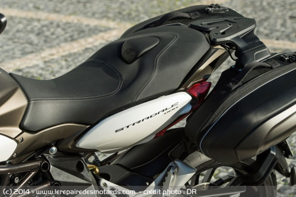 Selle biplace MV Agusta Stradale 800