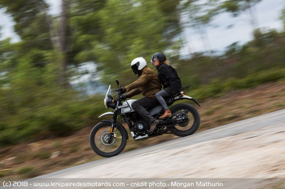 La Royal Enfield Himalayan en duo