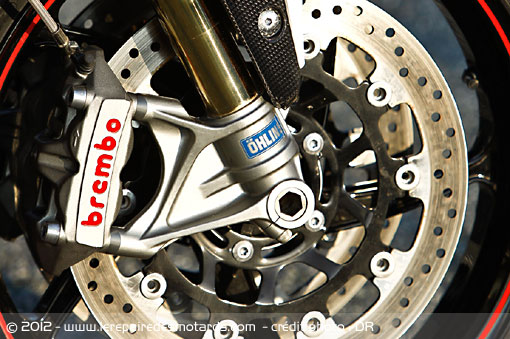 Freins Brembo Triumph Speed Triple R