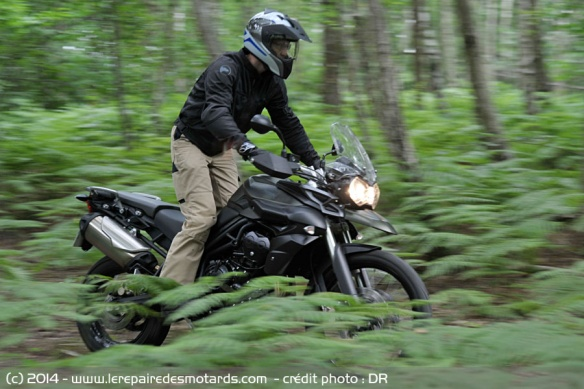Trail Triumph Tiger 800 XC
