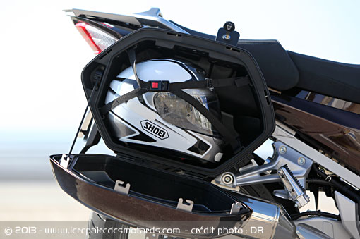 Valises Yamaha FJR 1300 AS