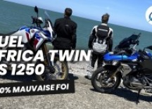 Comparo Honda Africa Twin 1100 vs. BMW R 1250 GS