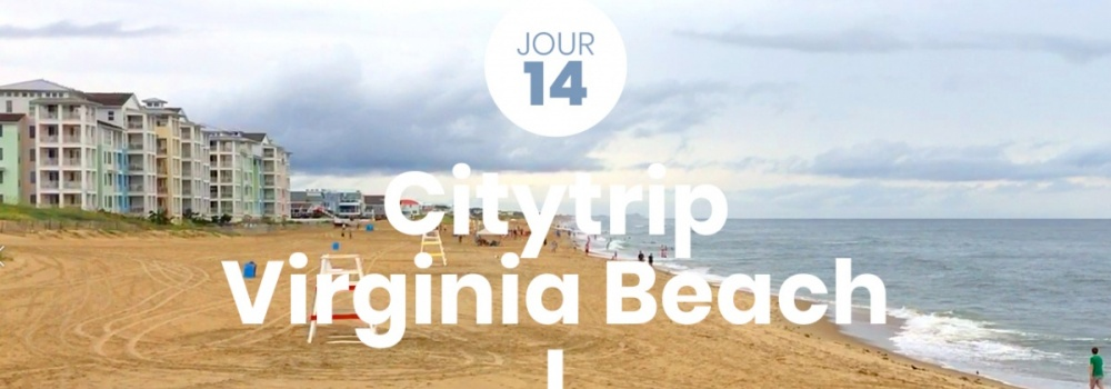 Aquarium, parc à dinosaures, plage... on visite Virginia Beach pour notre 14e jour de roadtrip