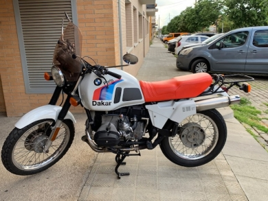 Photo vente BMW R80st Style GS  800