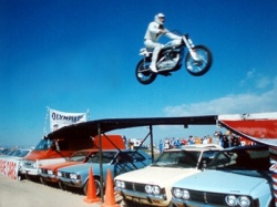 Pilote de légende : Evel Knievel (photo : DR)