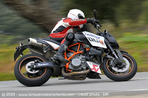 Michelin PilotPower3 sur KTM Duke 990