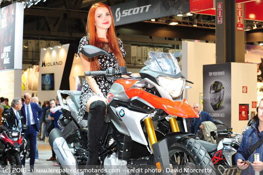 nouveaut s 2017 salon milan bmw g310 gs. Black Bedroom Furniture Sets. Home Design Ideas