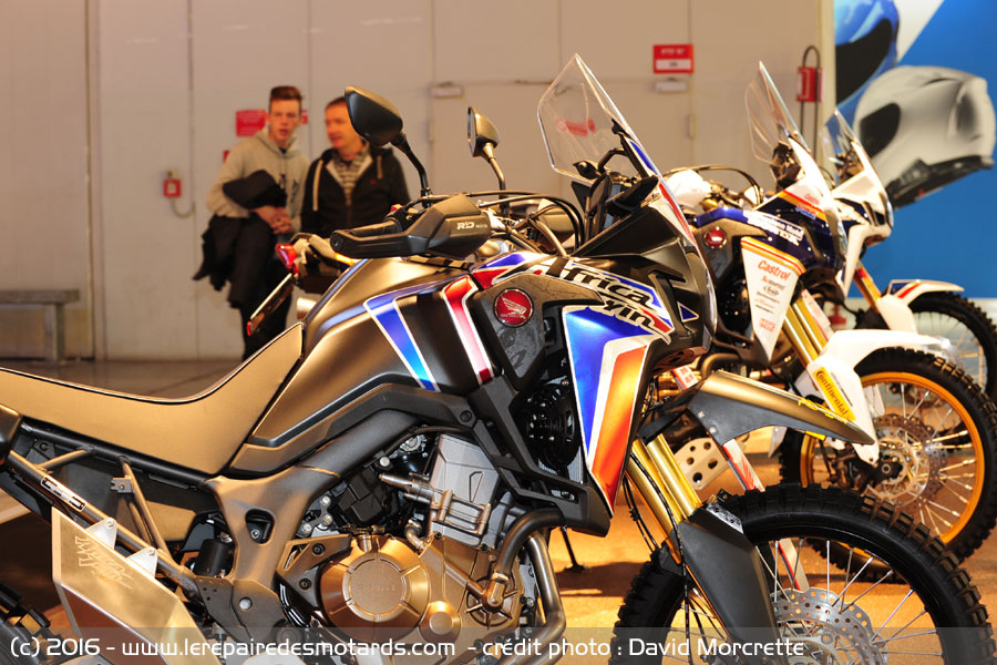 nouveaut s 2017 salon milan honda africa twin. Black Bedroom Furniture Sets. Home Design Ideas
