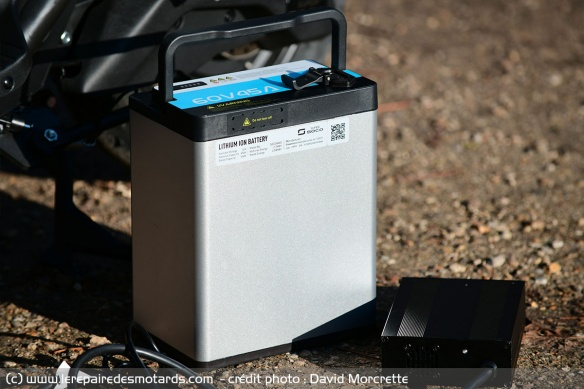 Batterie Lithium-ion ATL 60V 45A de 5,4 kWh de scooter électrique