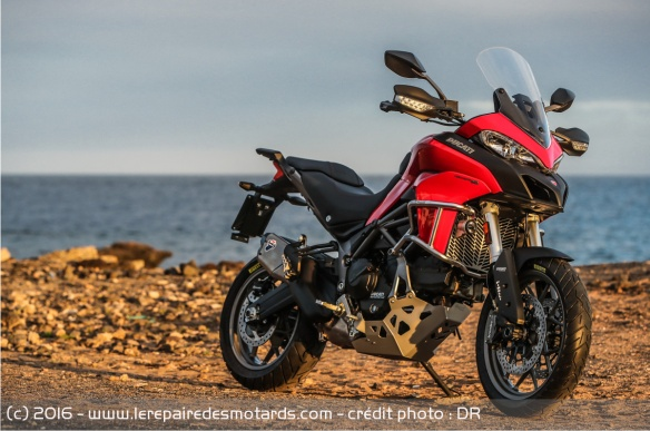 Technique de la Ducati Multistrada 950